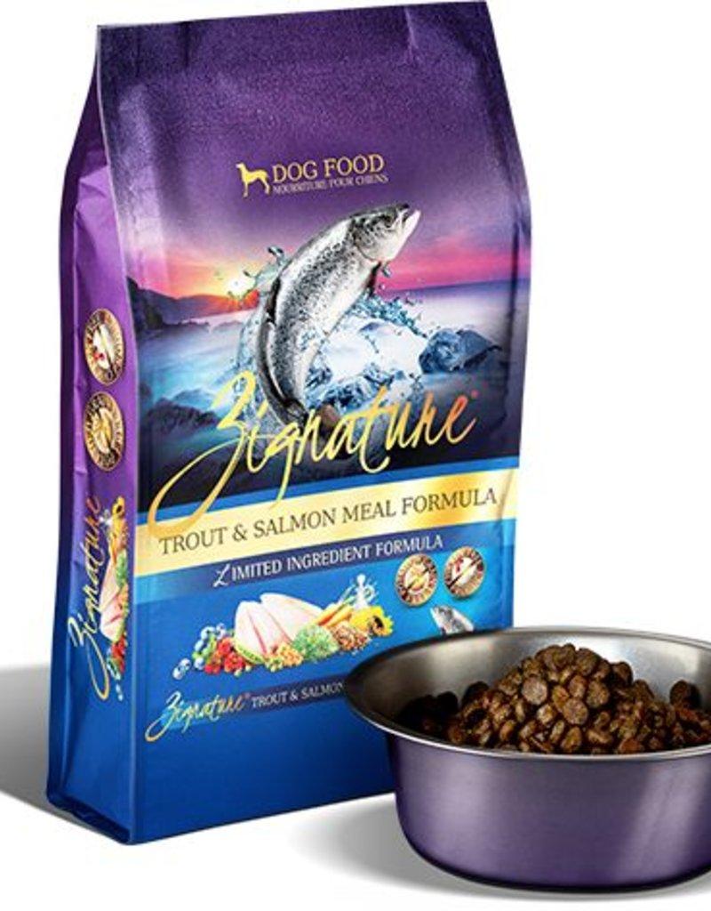 ZIGNATURE Zignature Trout & Salmon Formula Dog Food