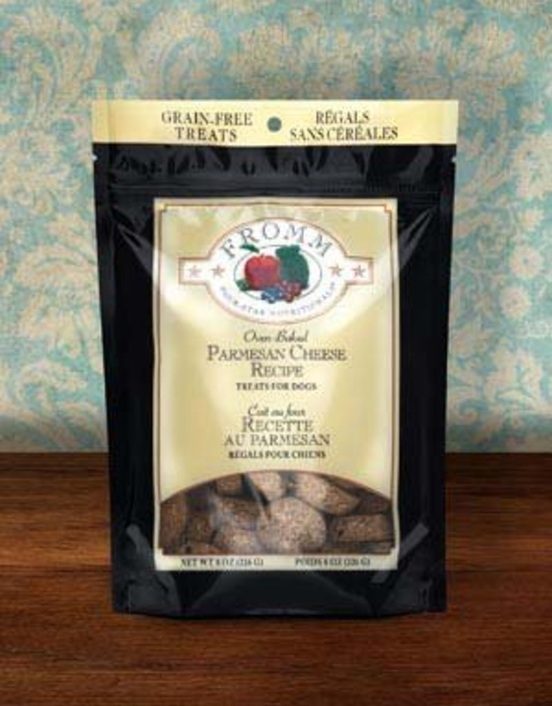 FROMM Fromm Dog Treats Parmesan Cheese 8oz