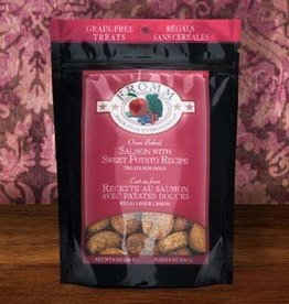 FROMM Fromm Dog Treats Salmon & Sweet Potato 8oz