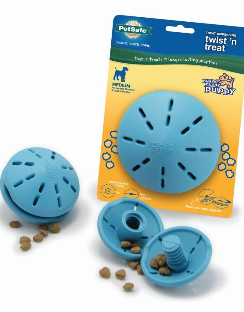 PETSAFE Busy Buddy Twist n' Treat for Puppies
