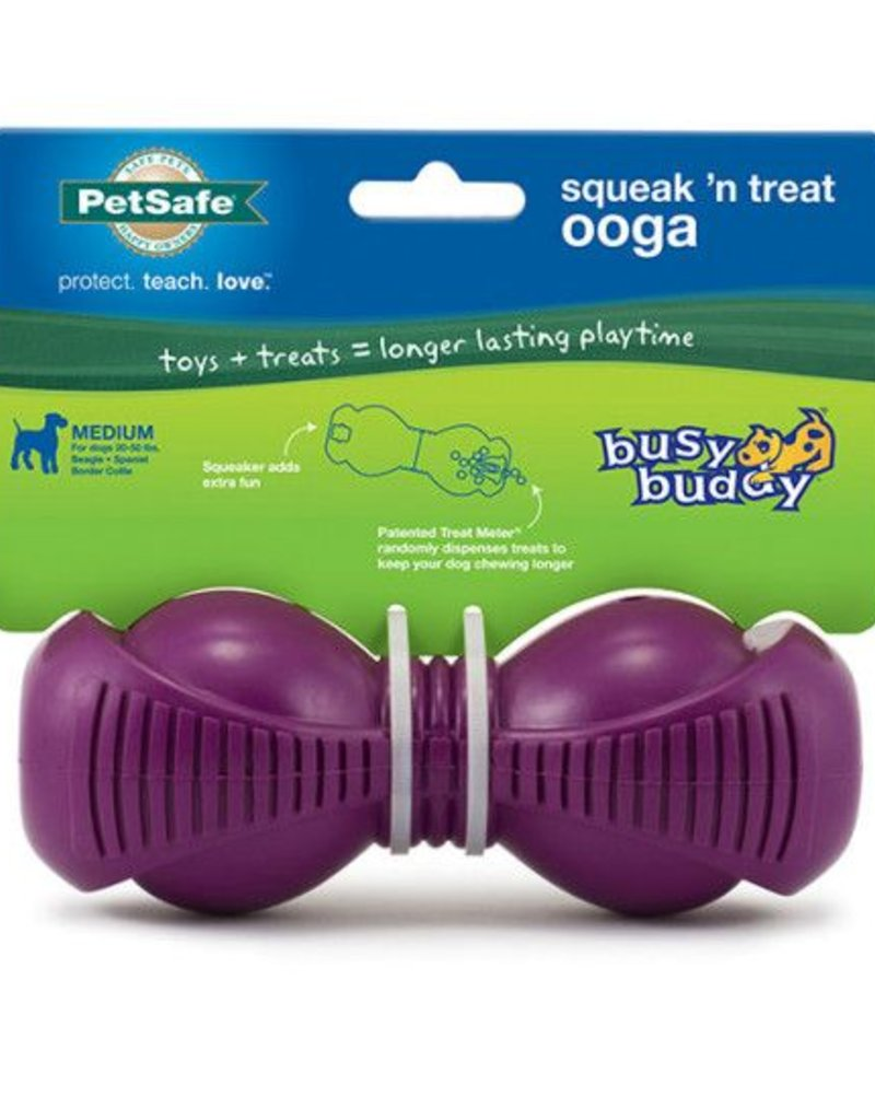PETSAFE Busy Buddy Squeak n' Treat Ooga