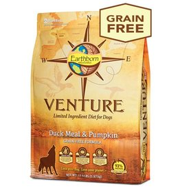 EARTHBORN Earthborn Venture Duck Meal & Pumpkin Dog Food