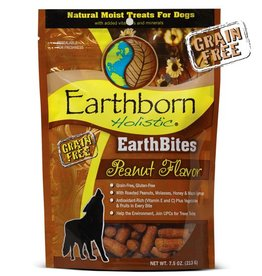 EARTHBORN Earthborn Earthbites Peanut Dog Treats 7.5oz