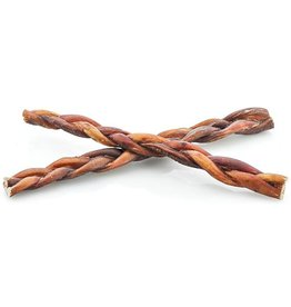 NATURAL DOG COMPANY Natural Dog Co Bully Sticks 12in Braided