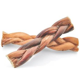 NATURAL DOG COMPANY Natural Dog Co Bully Sticks 6in Braided