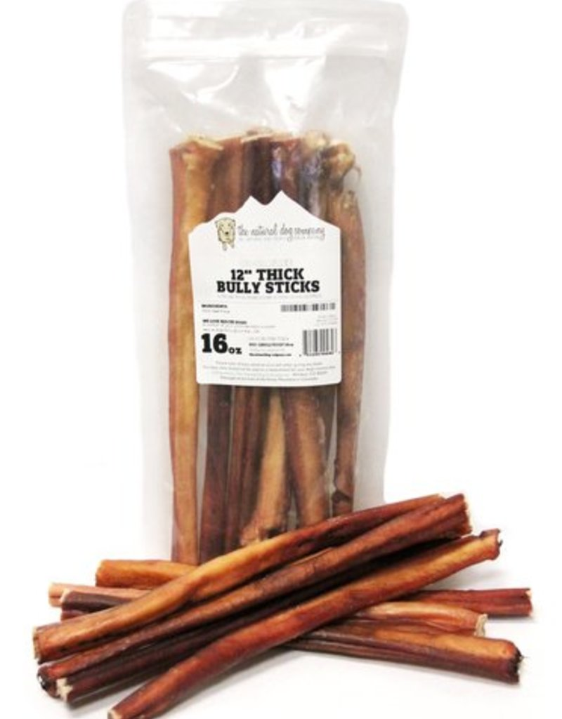 NATURAL DOG COMPANY Natural Dog Co Bully Sticks 12in Thick
