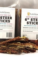 NATURAL DOG COMPANY Natural Dog Co USA Steer Sticks 6in