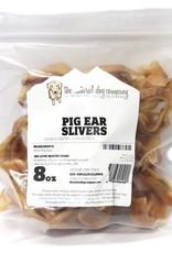 NATURAL DOG COMPANY Natural Dog Co USA Pig Ear Slivers 8oz Bag