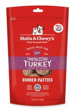 STELLA & CHEWYS Stella & Chewy's Freeze Dried Turkey Patties for Dogs