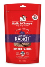 STELLA & CHEWYS Stella & Chewy's Freeze Dried Rabbit Patties for Dogs