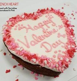 BAG OF BONES BARKERY Valentine's Day Heart Cake