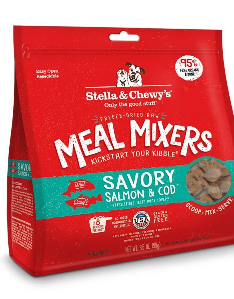 STELLA & CHEWYS Stella & Chewy's Freeze Dried Salmon & Cod Mixers for Dogs