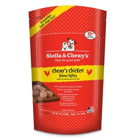 STELLA & CHEWYS Stella & Chewy's Frozen Raw Chicken Patties for Dogs