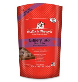 STELLA & CHEWYS Stella & Chewy's Frozen Raw Turkey Patties for Dogs