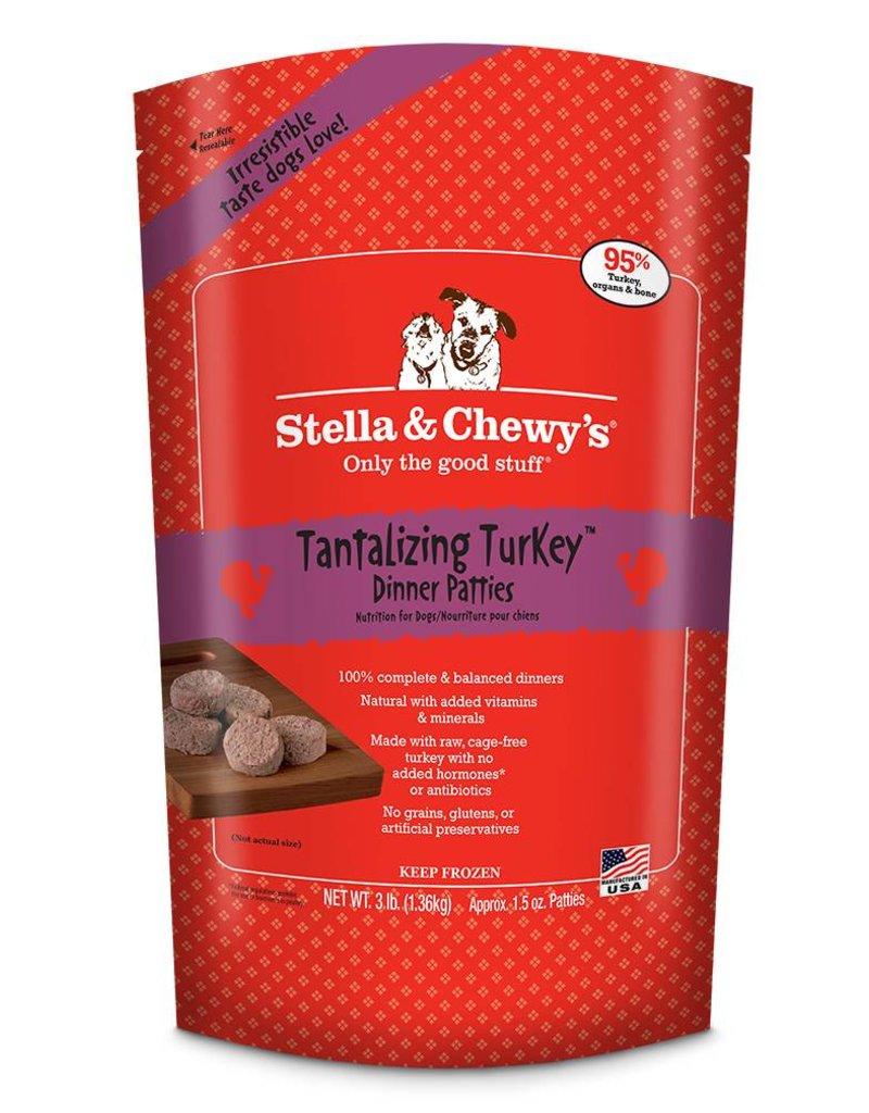 STELLA & CHEWYS Stella & Chewy's Frozen Raw Turkey Patties for Dogs