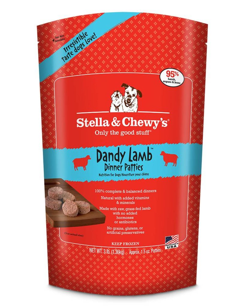 STELLA & CHEWYS Stella & Chewy's Frozen Raw Lamb Patties for Dogs