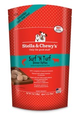 STELLA & CHEWYS Stella & Chewy's Frozen Raw Surf & Turf Patties for Dogs