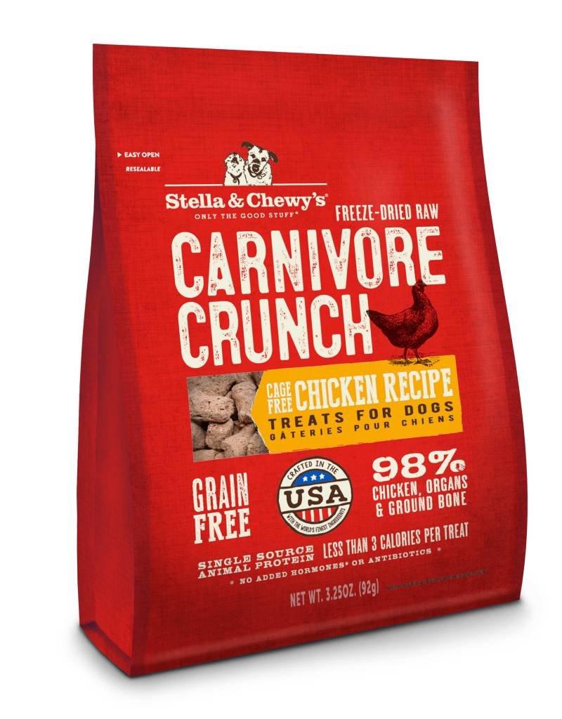 STELLA & CHEWYS Stella & Chewy's Carnivore Crunch Chicken 3.25oz