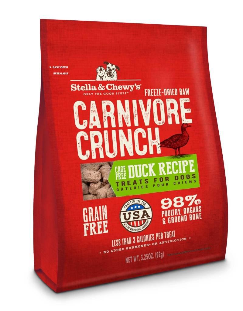 STELLA & CHEWYS Stella & Chewy's Carnivore Crunch Duck 3.25oz