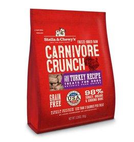 STELLA & CHEWYS Stella & Chewy's Carnivore Crunch Turkey 3.25oz