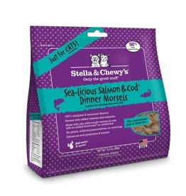 STELLA & CHEWYS Stella & Chewy's Freeze Dried Salmon & Cod Morsels for Cats