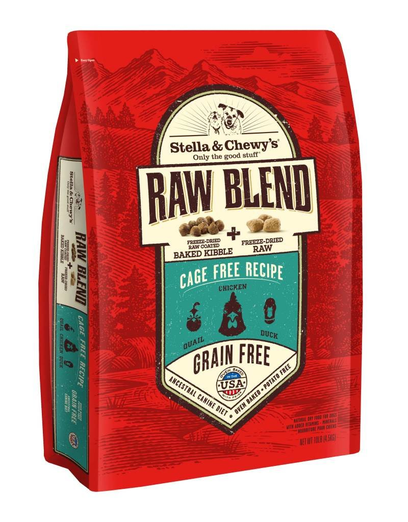 STELLA & CHEWYS Stella & Chewy's Raw Blend Cage Free Poultry Dog Food