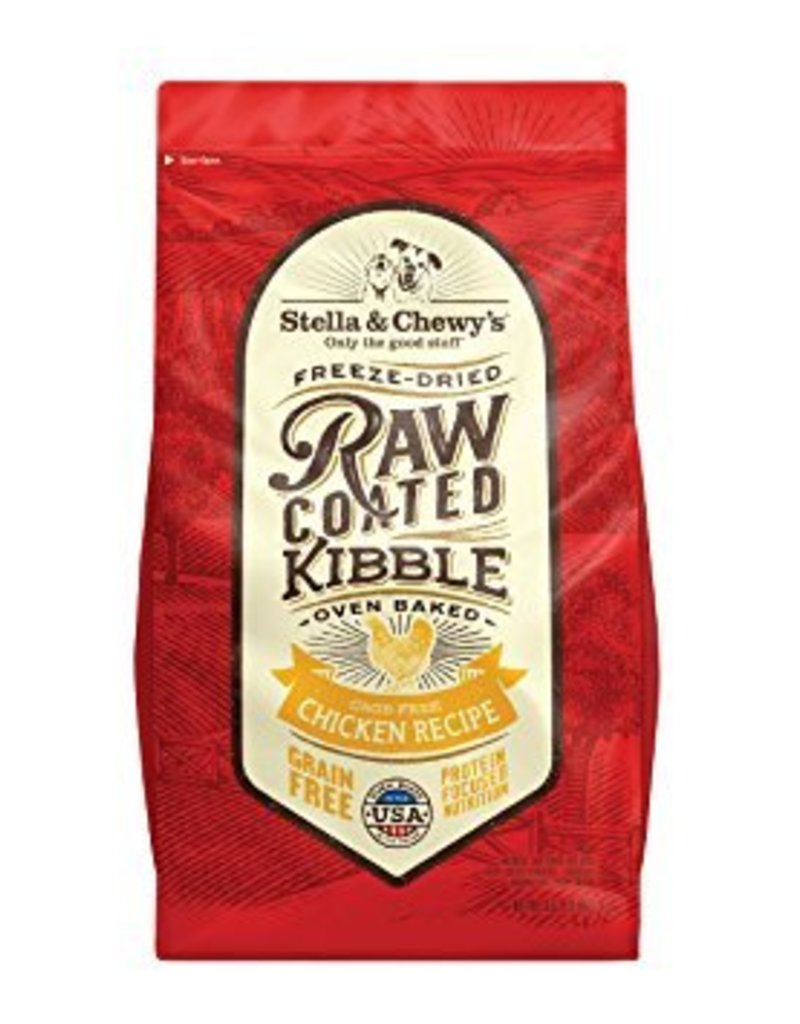 STELLA & CHEWYS Stella & Chewy's Raw Coated Chicken Dog Food