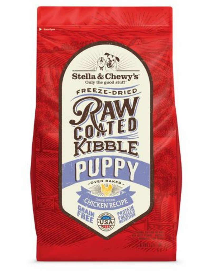 STELLA & CHEWYS Stella & Chewy's Raw Coated Chicken Puppy Food