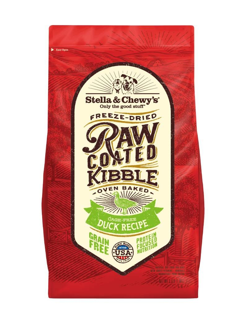 STELLA & CHEWYS Stella & Chewy's Raw Coated Duck Dog Food