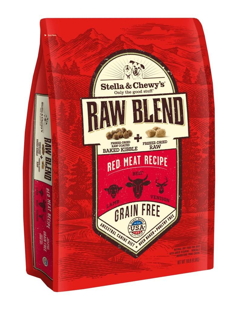 STELLA & CHEWYS Stella & Chewy's Raw Blend Red Meat Dog Food