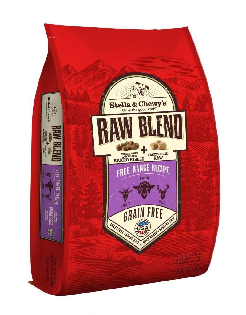 STELLA & CHEWYS Stella & Chewy's Raw Blend Free Range Dog Food