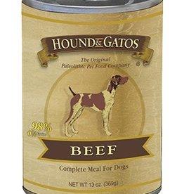 HOUND & GATOS Hound & Gatos Beef 13oz Canned Dog Food (Case of 12)