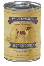 HOUND & GATOS Hound & Gatos Lamb/Chicken/Salmon 13oz Canned Dog Food (Case of 12)