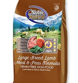 NUTRISOURCE Nutrisource Grain Free Lamb & Pea Large Breed 30lb