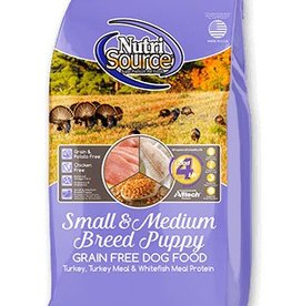 NUTRISOURCE Nutrisource Grain Free Small & Medium Breed Puppy Food