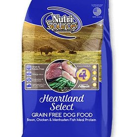 NUTRISOURCE Nutrisource Grain Free Heartland Select Dog Food 30lb