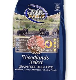 NUTRISOURCE Nutrisource Grain Free Woodlands Select Dog Food