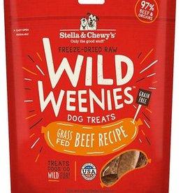 STELLA & CHEWYS Stella and Chewy's Wild Weenies Beef Recipe 3.25oz