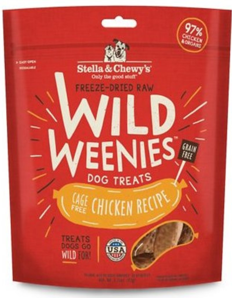 STELLA & CHEWYS Stella and Chewy's Wild Weenies Chicken Recipe 3.25oz