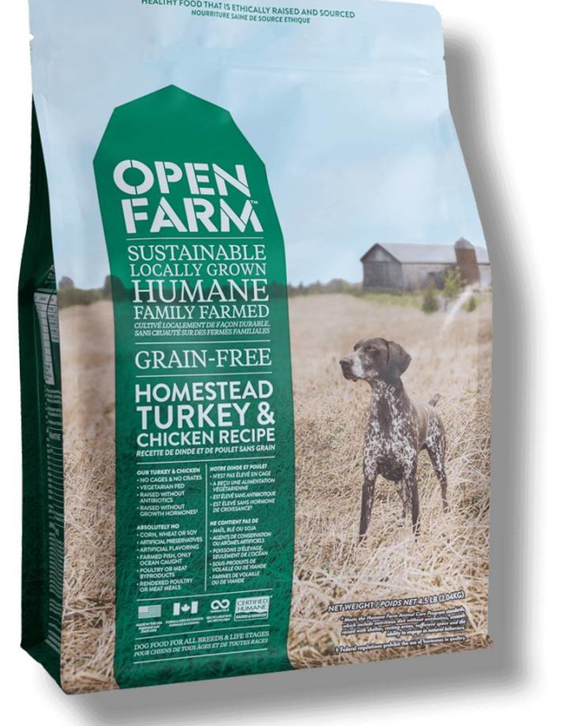 OPEN FARM Open Farm Homestead Turkey & Chicken Recipe Dog Food