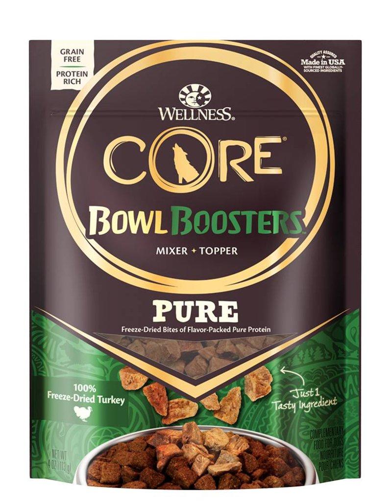 WELLNESS Wellness CORE Pure Bowl Boosters Turkey Freeze Dried 4oz