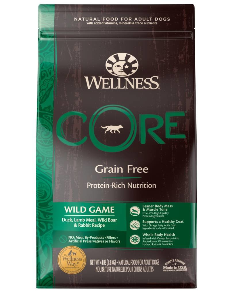 WELLNESS Wellness Core Grain Free Wild Game Dog Food