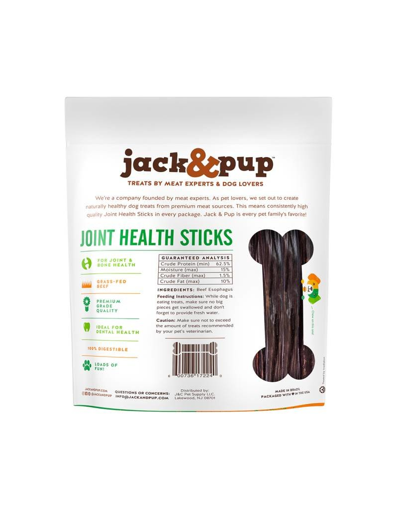 JACK & PUP Jack & Pup Joint Health Sticks 6in