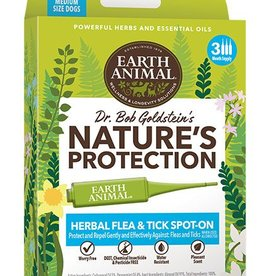 EARTH ANIMAL Earth Animal Herbal Flea & Tick Spot-On for Dogs