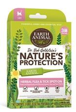 EARTH ANIMAL Earth Animal Herbal Flea & Tick Spot-on for Cats