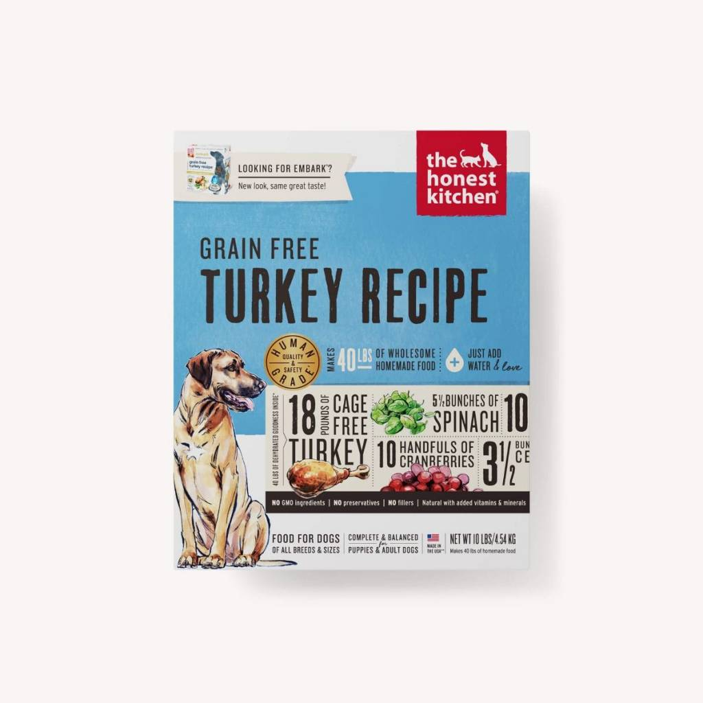 Honest Kitchen Embark: The Honest Kitchen Grain Free Turkey (Embark) Dog Food