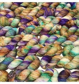 Woolen Boon Mardi Gras - Classic Fingering - Woolen Boon: A custom-designed Argyle exclusive!