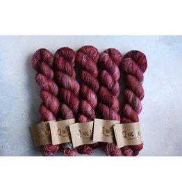 Qing Fibre Antique Rose - Super Soft Sock - Qing Fibre