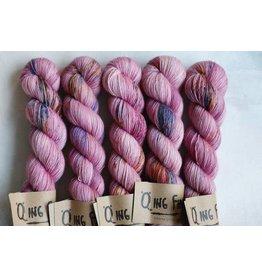 Qing Fibre Berry Milkshake - Super Soft Sock - Qing Fibre