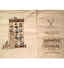 BKLYN KAL drawstring project bag